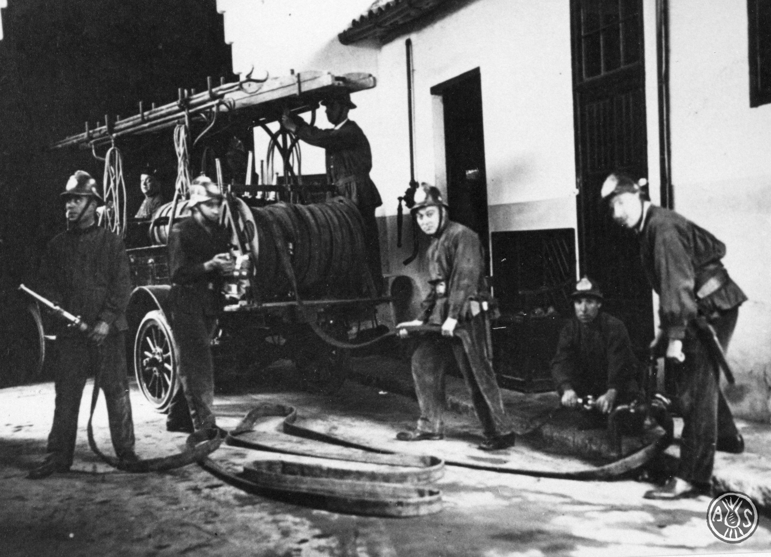Bombers de Sabadell 1928 (aprox.)