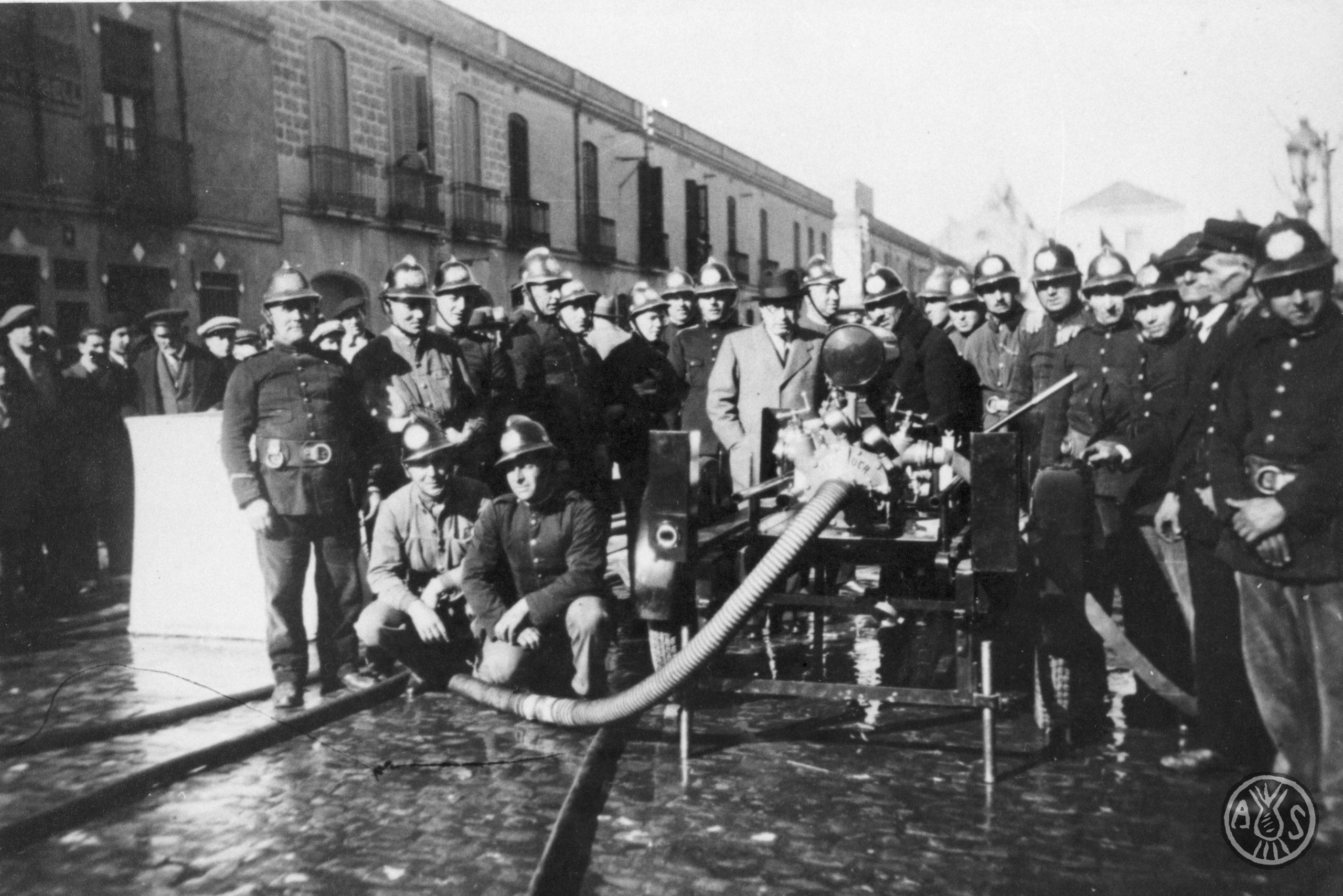 Bombers de Sabadell el 3 de febrer de 1936