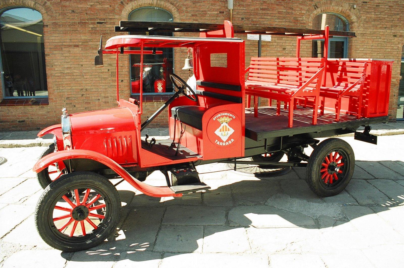 Ford T dels Bombers de Terrassa de l'any 1929