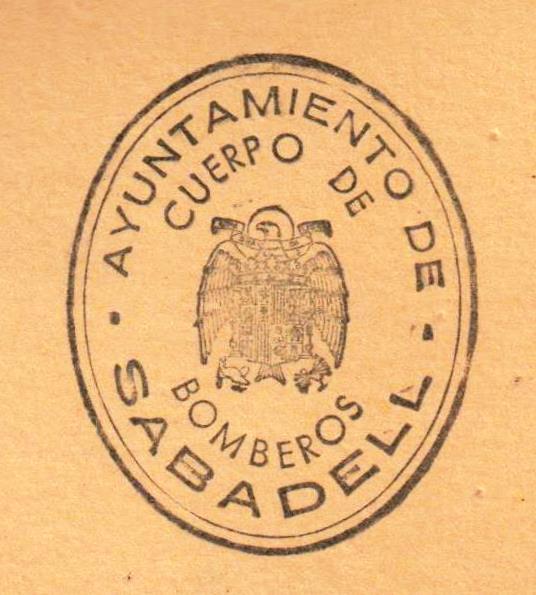 Segell dels Bombers de Sabadell a partir de 1939
