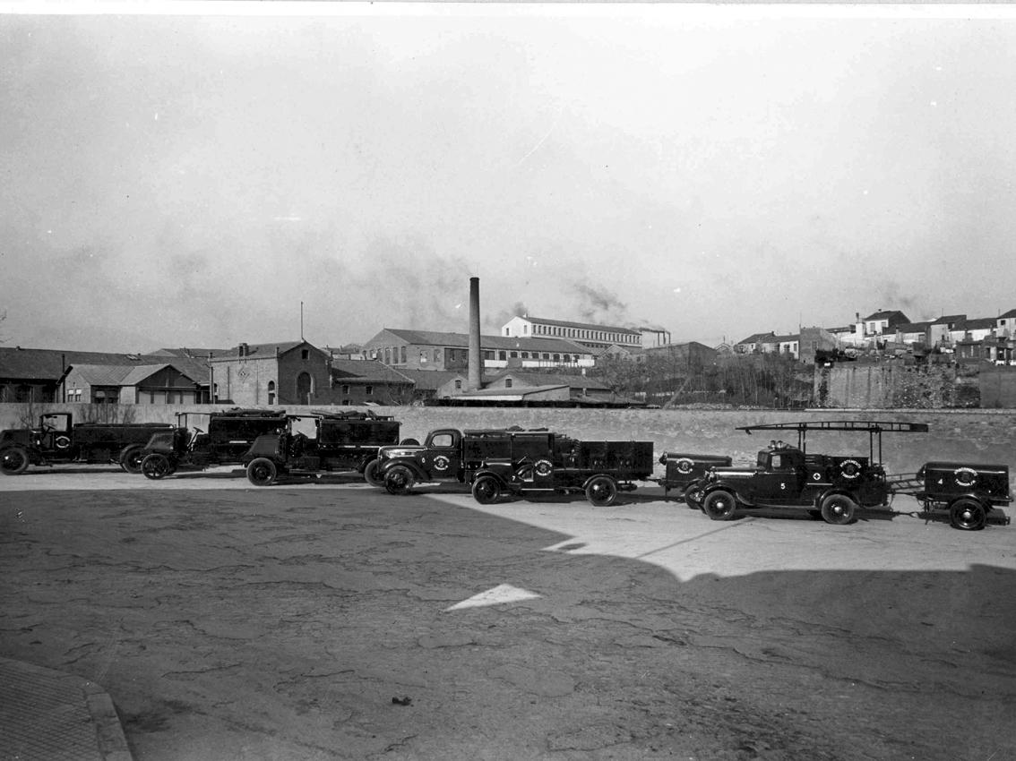 Bombers de Terrassa el 1927